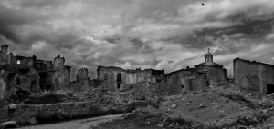 Panorama of Belchite