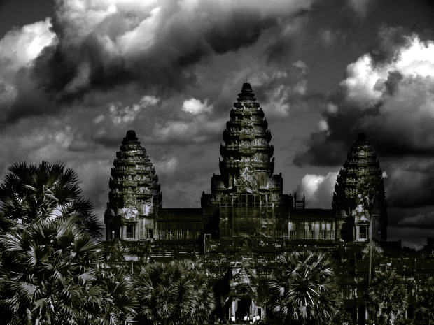Entrance to Angkor Wat