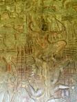 Wall cravings at Angkor Wat