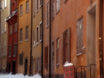 Stockholm colorful town houses