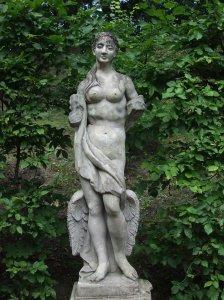 Rogalin garden statue