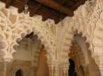 Aljafería arches