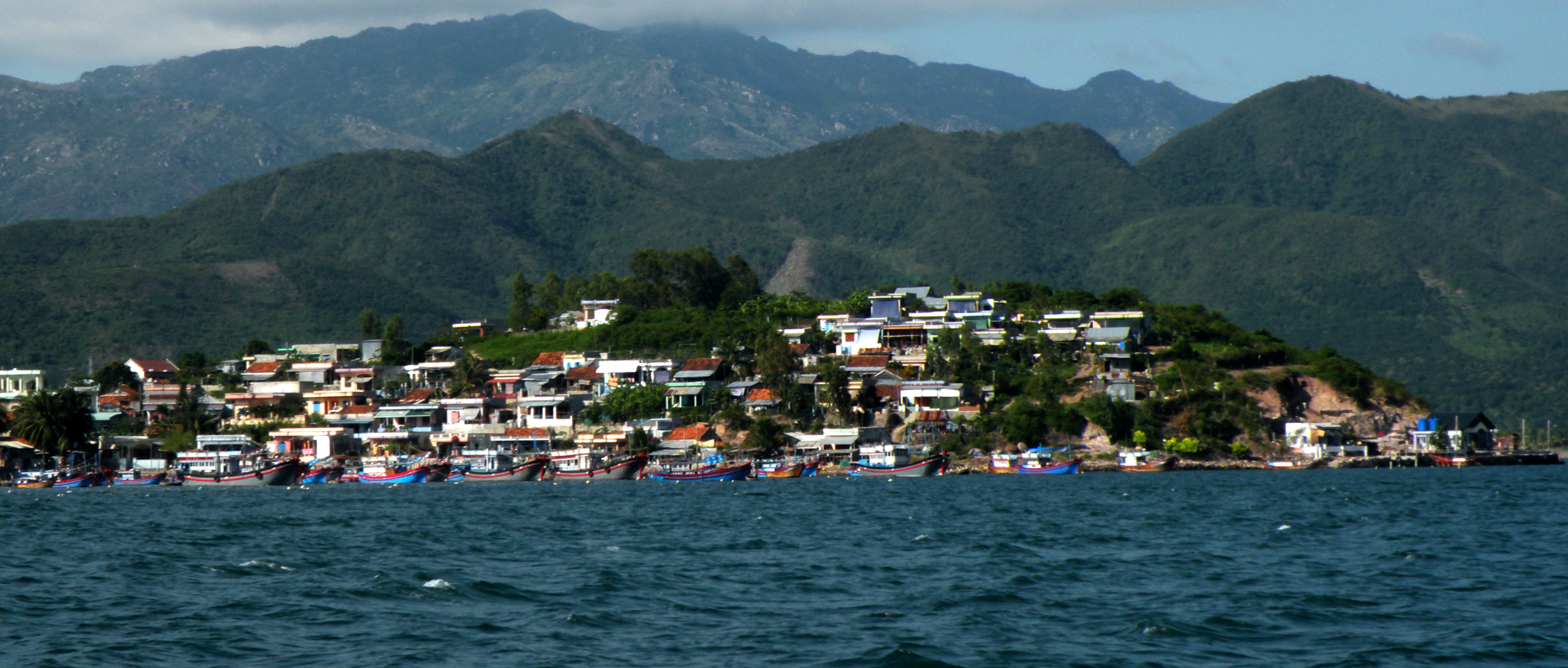 Nha Trang from the sea