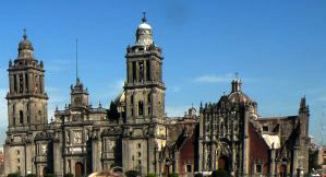The Metropolitan Cathedral of the Assumption of Mary of Mexico City