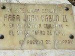 Pope John Paul II in Cuilapan de Guerrero