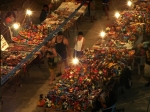 Night market Puerto Escondido