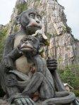 Monkey statue Khao No - Khao Kaeo