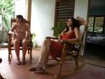 Swinging chairs Vinales