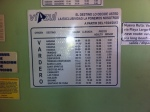 Varadero bus timetable