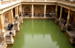 Roman baths Bath UK