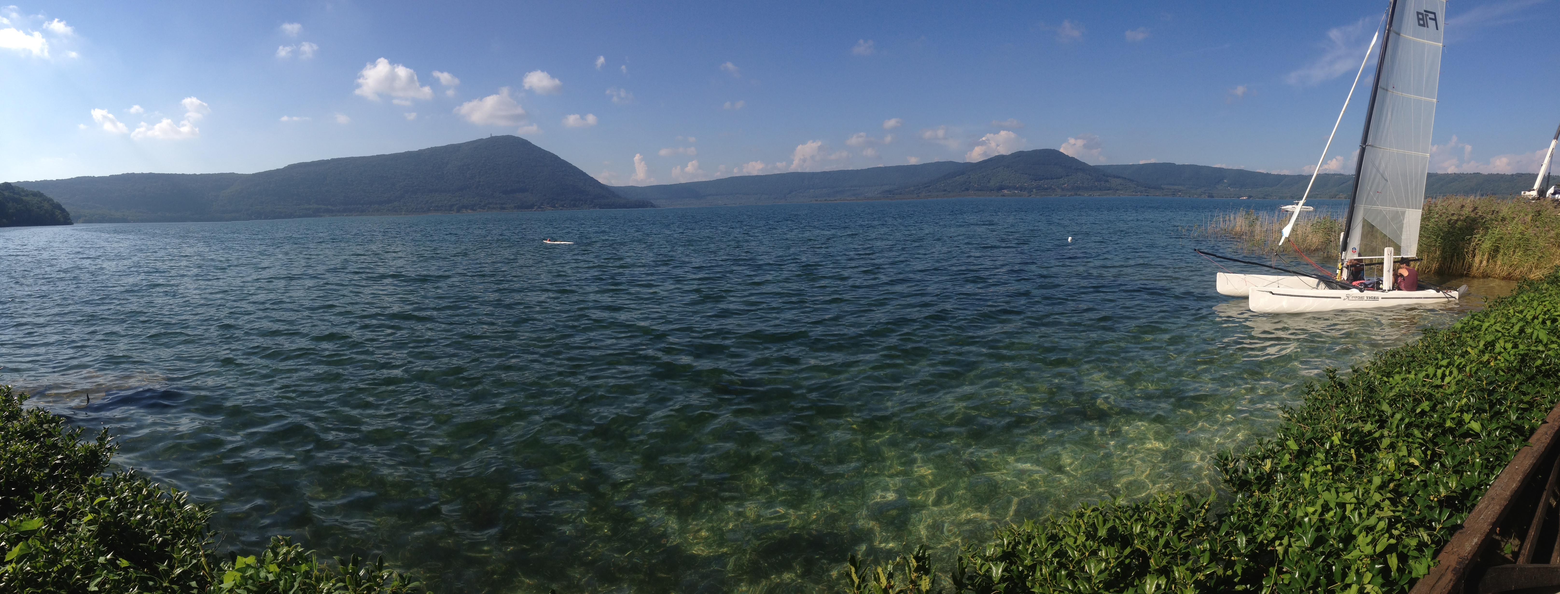 Italy lake in Tuscany