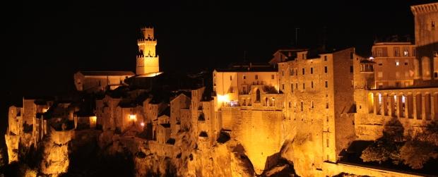 Pitigliano, province of Grosseto, Italy 2014